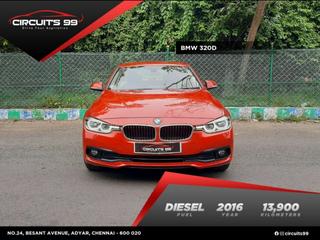 2016 बीएमडब्ल्यू 3 Series 320d Sport
