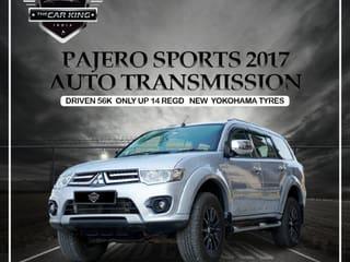 2017 Mitsubishi Pajero Sport 4X4 AT