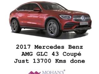 2017 मर्सिडीज जीएलसी कूपे 43 AMG 4MATIC