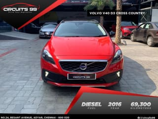 2016 Volvo V40 Cross Country D3