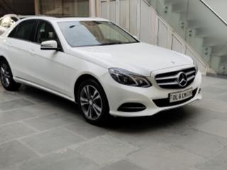 Mercedes-Benz E-Class E250 CDI Launch Edition