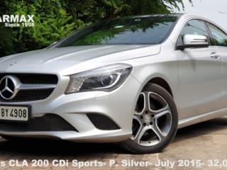 2015 Mercedes-Benz CLA 200 CDI Sport