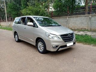 2014 Toyota Innova 2.5 VX (Diesel) 8 Seater