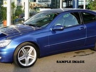 2002 Mercedes-Benz New C-Class 180 Classic