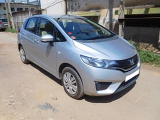 Used Silver Honda Jazz 2011 2013 Car In Bangalore 1 Second Hand