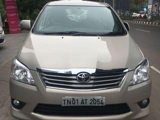 2012 Toyota Innova 2.5 VX (Diesel) 8 Seater