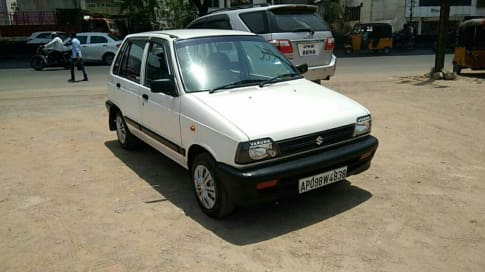 7 Used Maruti 800 Cars in Hyderabad, Second Hand Maruti 800 Cars for