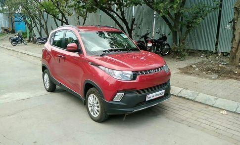 Mahindra KUV100  mFALCON G80 K8
