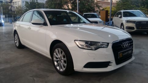 6 Used Audi A6 Cars in Hyderabad, Second Hand Audi A6 Cars for Sale