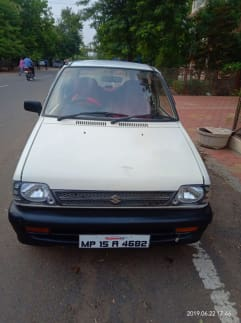 1 Used Maruti 800 Cars in Bhopal, Second Hand Maruti 800 Cars for Sale