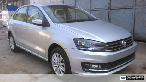 used volkswagen vento 2015-2019 1.2 highline plus at 16 alloy in bangalore