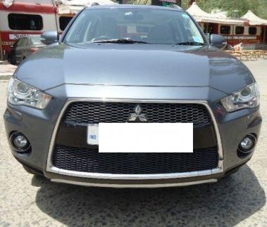 Mitsubishi Outlander 2007-2013  Chrome