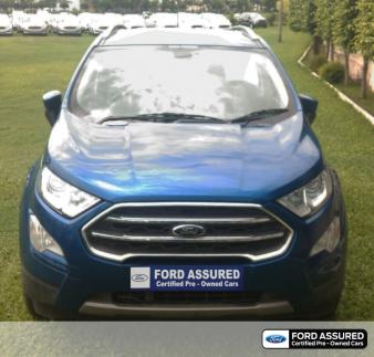 used ford ecosport 1.5 diesel titanium plus in rudrapur