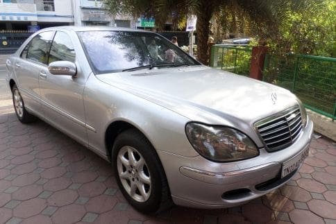 Used mercedes benz s class in chennai certified second for Mercedes benz chennai