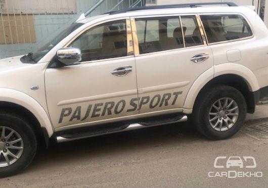 2016 Mitsubishi Pajero Sport 4X4 Dual Tone