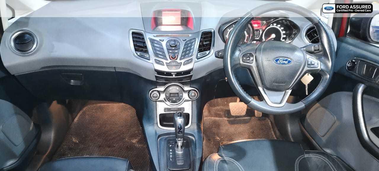 Ford Fiesta 2011-2013 AT Titanium Plus